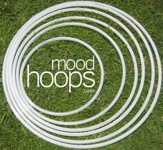 """42"""" (see their sizing guide) is 20 bucks from moodhoops.com """"Our polypro hula hoop is sleek, minimal, and lightning fast..."""" Comes with sandpaper so you can sand to your liking.  Uses 3/4″ OD tubing for a good balance between lightness and strength.  Can be opened and partially coiled down for travel.  Locking snap button keeps the hoop shut, even during high-velocity spinning."""