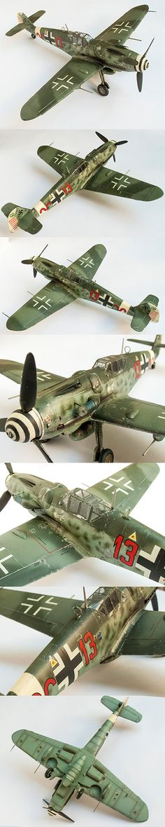 Messerschitt Bf 109, 1/48 scale by Korhan AKBAYTOGAN
