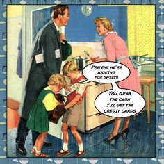 Vintage Illustrations A funny story of a comment mentioned to me while in the store. Housewife It Doesn't Sound Like a Real Occupation. Photo Vintage, Vintage Love, Vintage Prints, Vintage Posters, Vintage Travel, Vintage Style, Vintage Pictures, Vintage Images, Vintage Housewife