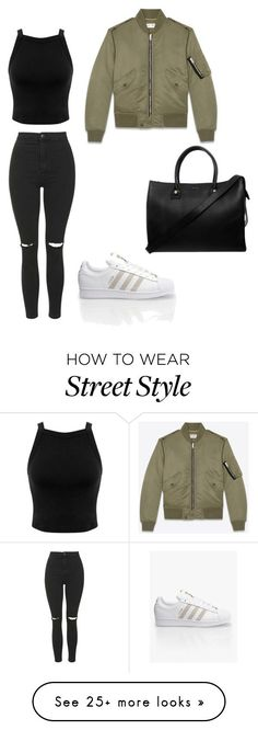 """street style"" by noemiemuslewski-1 on Polyvore featuring Topshop, Miss…"