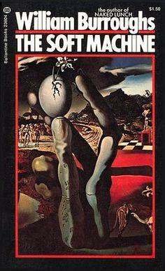 William Burroughs - The Soft Machine / Salvador Dali cover