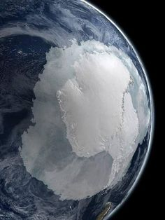 """coolthingoftheday: """"Earth's South Pole. """""""