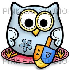 Hanukkah Owl++++++