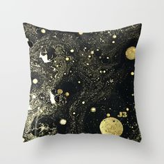 Cosmic Gold Pillow / J3 Productions.