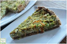 Vivir Diferente en Familia: tarta vegana de verduras