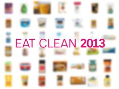 100 cleanest packaged foods for 2013. If you have to buy packaged, buy these. Amazing reference!