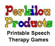 Winter Themed Speech Freebies from Perkilou Products  - Pinned by @PediaStaff – Please visit http://ht.ly/63sNt for all (hundreds of) our pediatric therapy pins