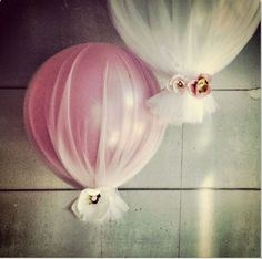 images for decorations made with tulle - Google Search