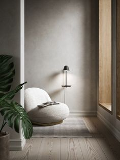 Stay is a multi-functional and beautiful lighting design in the same time. The lamp has several gorgeous qualities, where the lampshade's flexible swivel mechanism allows for a directional light that creates optimal lighting conditions. #Living Room #Den #Interior Design #Inspiration #Décor Ideas #Nordic #Danish Design #Scandinavian #Modern #Minimalist #Cozy #Wall Lamp #Lighting Minimalist Interior, Minimalist Home, Unique Home Decor, Cheap Home Decor, Interior Styling, Interior Design, Design Apartment, Led Wall Lights, Up House