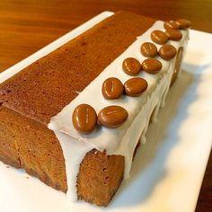 コーヒー豆のチョコとアイシングでデコレーション - 365件のもぐもぐ - カルーア入りのコーヒーカトルカール by yuko710