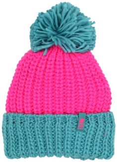 Amazon.com: neff Women's Sofia Beanie Hat, Pink/Green, One Size: Clothing