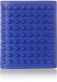 Christian Louboutin Paros spiked leather wallet