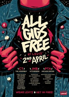 All Gigs Free: By Levi's Poster on Behance