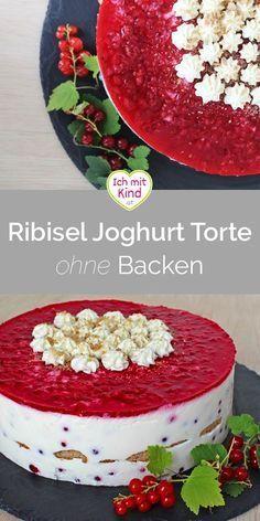 Ribisel Joghurt Torte Dream Cake, Vanilla Cake, Nom Nom, Muffins, Bakery, Cheesecake, Decorative Boxes, Food And Drink, Birthday Cake