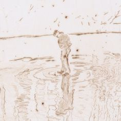 """The Blotter"" is based on a photograph of Peter Doig´s brother standing on a frozen pond in Canada. The figure may look like a boy, but in fact Doig´s brother was 28 years old when this picture was shot. Doig deliberately wanted to avoid an accurate depiction, as he was focused on capturing the feeling of loneliness. 🎨 Color Etching 🎨 Edition of 35 🎨 20,3 x 14 cm 📲 Available on our website now! 💌 info@wengcontemporary.com #magicrealism #aquatint #painting #canada #artist #art #museum Peter Doig, Feeling Of Loneliness, Frozen Pond, Magic Realism, 28 Years Old, Artist Art, Contemporary Artists, Art Museum, Abstract Art"