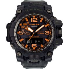 Mens Casio G-Shock x Maharishi Mudmaster British Bonsai Forest Alarm Chronograph Radio Controlled Watch GWG-1000MH-1AER