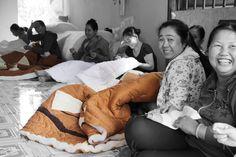 #quilt #handmade #Vietnam #socialbusiness #development Social Business, Cambodia, Vietnam, Quilting, Handmade, Beautiful, Women, Scrappy Quilts, Hand Made