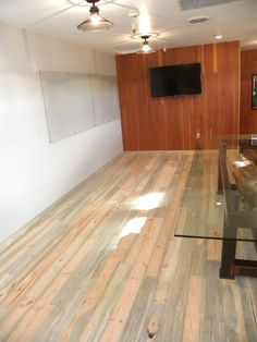 Unfinished Beetle Kill Pine Flooring Supplied By Sustainable Lumber Co Installed In The Penofin Executive
