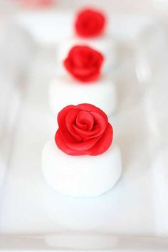 These are so beautiful they make me want to try my hand at fondant.