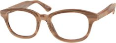 Brown Acetate Full-Rim Frame 301235 Optical Glasses, Eye Glasses, Color Balance, Eyewear, Frames, Eyes, Purple, Brown, Eyeglasses