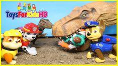 La Patrulla Canica Salva a Los Dinosaurios para niños - Patrulla de Cachorros - Videos de Paw Patrol
