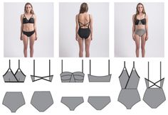 Fun swimsuit patterns that are perfect for summer!