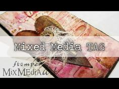 Mixed Media TAG : feat. Stamperia - YouTube