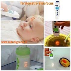 Il bambino SENTE la febbre, tu la VEDI! Visiofocus è il termometro per bambini e adulti che misura la febbre in pochi secondi, senza contatto e LA PROIETTA SULLA FRONTE! Inoltre con Visiofocus rilevi anche la temperatura del biberon, delle pappe, del bagnetto e dell'ambiente. Divertente e utile non trovi? Leggi le sue caratteristiche qui:http://ndgz.it/termometro-bambini-visiofocus  #termometro #bambini #innovazione #febbre