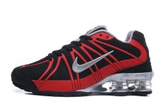 High-end Product Nike Shox Kpu Black Red Boys Sneakers Men's Running Shoes Sneakers Pink Running Shoes, Running Shoes For Men, Mens Running, Nike Shox Nz, Black Sneakers, Shoes Sneakers, Mens Nike Air, Grey Shoes, Nike Shoes
