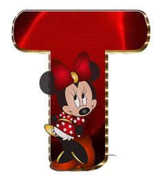 Minnie Png, Minnie Mouse Party, Mouse Parties, Minnie Mouse Background, Mickey Mouse Letters, Cute Alphabet, Alphabet Letters, Card Table Wedding, Letter T