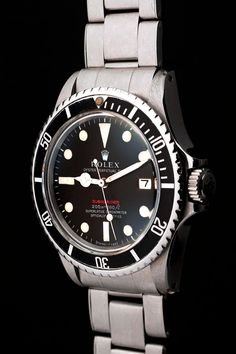 A Red Rolex Submariner. Classic Vintage Find. #Rolex #Submariner #Vintage