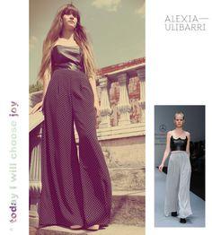 pantalones de Alexia Ulibarri disponibles en CAÑAMIEL
