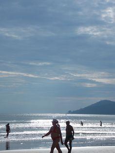 #Balneário #Camboriú #anoitecer #por do sol #mar #praia