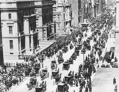 """Fifth Avenue in New York City on Easter Sunday in 1900"""