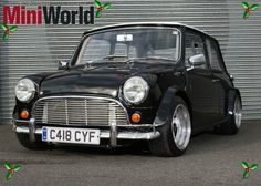 Classic mini in black with low stance