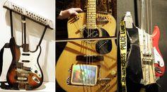The guitars of Christian Blandhoel
