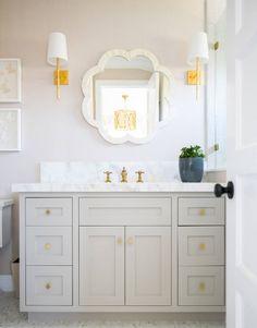 shabby chic bathroom decor over toilet Wood Bathroom, Bathroom Kids, Bathroom Renos, Bathroom Renovations, Small Bathroom, Girl Bathroom Ideas, Master Bathroom, Bathroom Mirrors, Bathroom Hardware