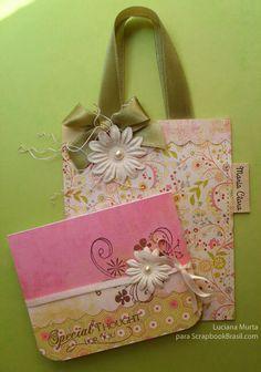 !♥ ARTE COM QUIANE - Paps,Moldes,E.V.A,Feltro,Costuras,Fofuchas 3D tudo pra vc!: Bolsas de papel