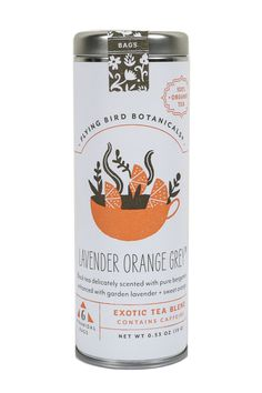 Pigment - Lavender Orange Red Herbal Tea, $8.50 (http://www.shoppigment.com/lavender-orange-red-herbal-tea/)