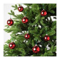 VINTER 2016 Decorative ornament, set of red