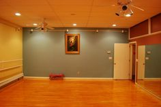 how to build a dance studio at home
