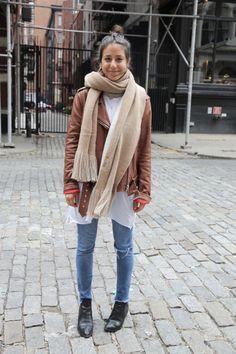 Esther's Picks: Distressed Leather Acne Jacket | Man Repeller