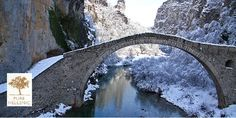 PDO Winter Excursion in Greece, Konitsa, Epirus. So revitalising experience like the herbaceus spicy flavor of PURE HELLENIC PDO Kalamata Extra Virgin Olive Oil.
