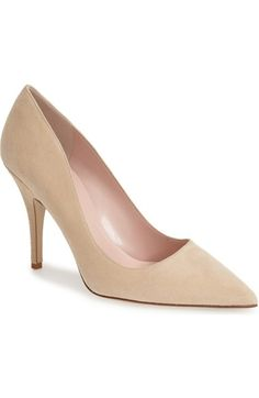 kate spade new york 'licorice too' pump (Women) available at #Nordstrom