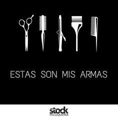 ¡¡Arriba las manos, estas son mis armas!! #peluquería #frases