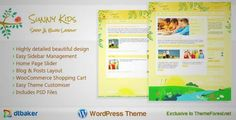Download and review of Sunny Kids Creative WooCommerce, one of the best Themeforest Retail themes