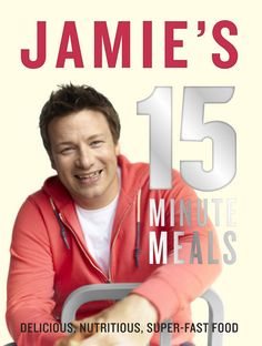 Jamie Oliver 15 Minute Meals-this book has THE BEST ever chicken and couscous meal in the world!