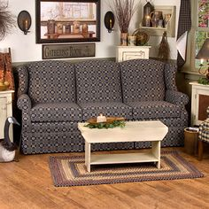 1000 Images About Colonial Primitive Style Wing Back Sofa