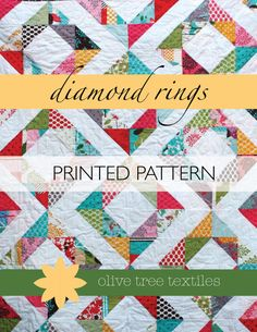 quilt pattern - diamond rings.