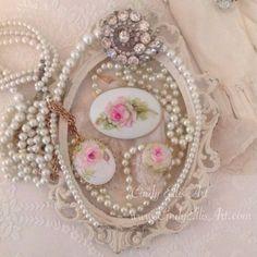 Rose Jewelry Cindy Ellis Art